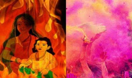 Why is Holi festival celebrated?